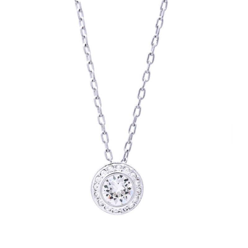 Swarovski swarovski crystal texture minimalist buttons ms. clavicle chain necklace pendant 1081938