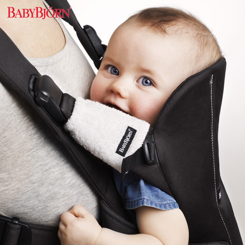 Swedish babybjorn dedicated sucking sucking pad soft white cotton baby sling baby backpack baby sling protection pad