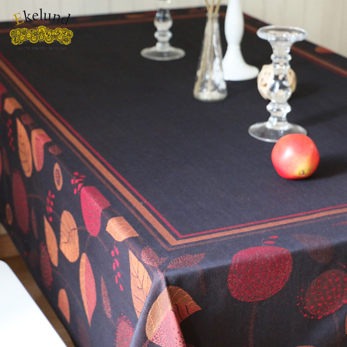 Swedish Ekelund Love Coach Knight Black Suit European Pastoral Coffee Table Cloth  Tablecloth Table Runner Placemats
