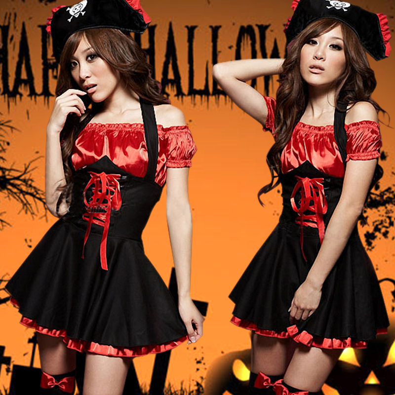 Swing girls strapless dress sexy costumes night games ktv princess skirt was thin korean dress