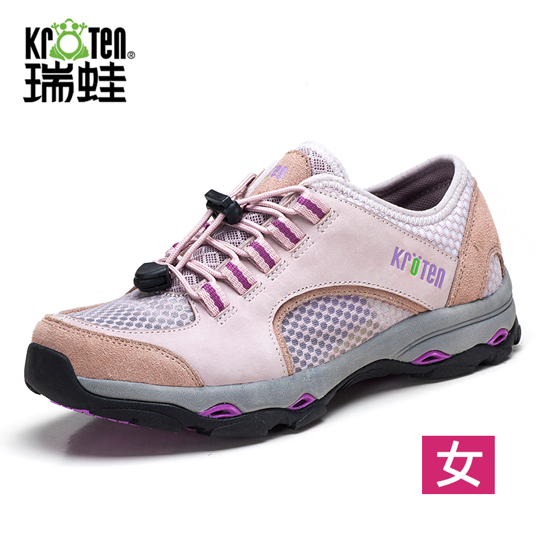 Swiss frog 2016 breathable mesh slip hiking shoes women wear and seismic outdoor hiking shoes casual shoes hiking shoes women