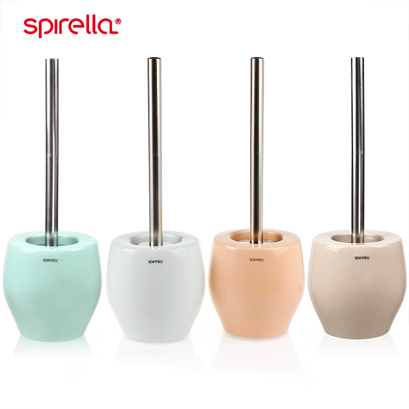 Switzerland spirella ceramic with a base toilet cleaning toilet toilet brush can be replaced bali