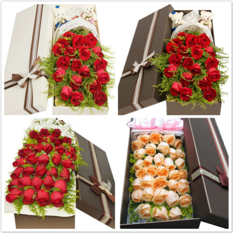 Taian flower delivery valentine's day confession birthday gift bouquet of roses feicheng ningyang dongping xintai city