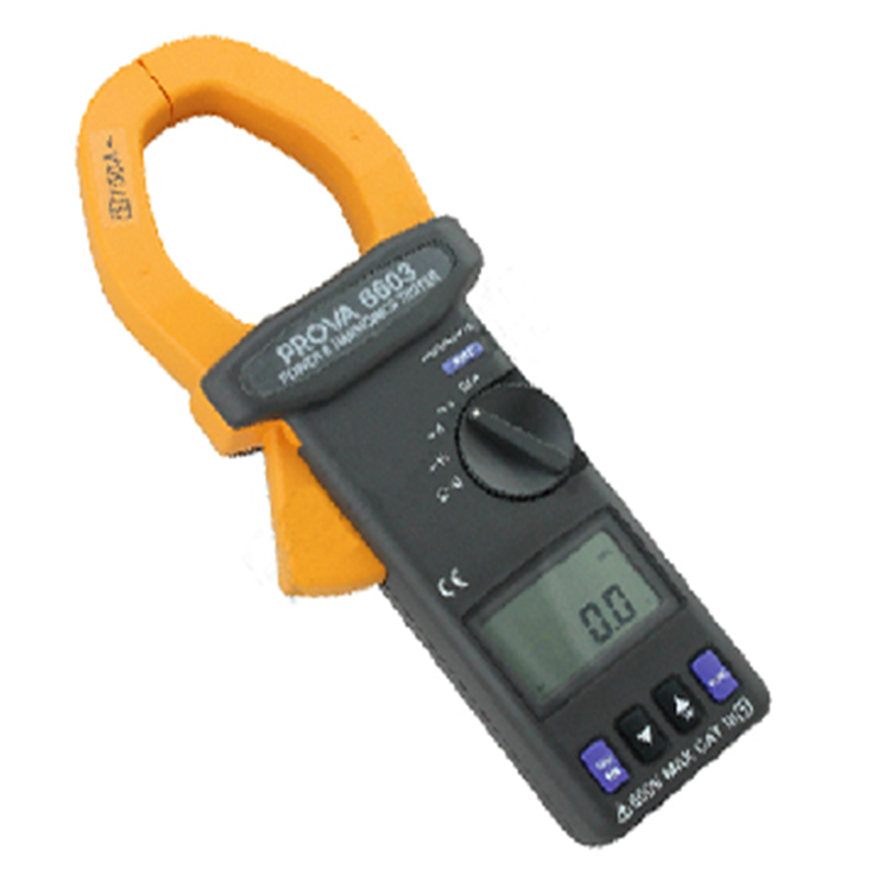 Taiwan bauer PROVA-6603 ac power and 12-phase peak speed measuring instrument power detector