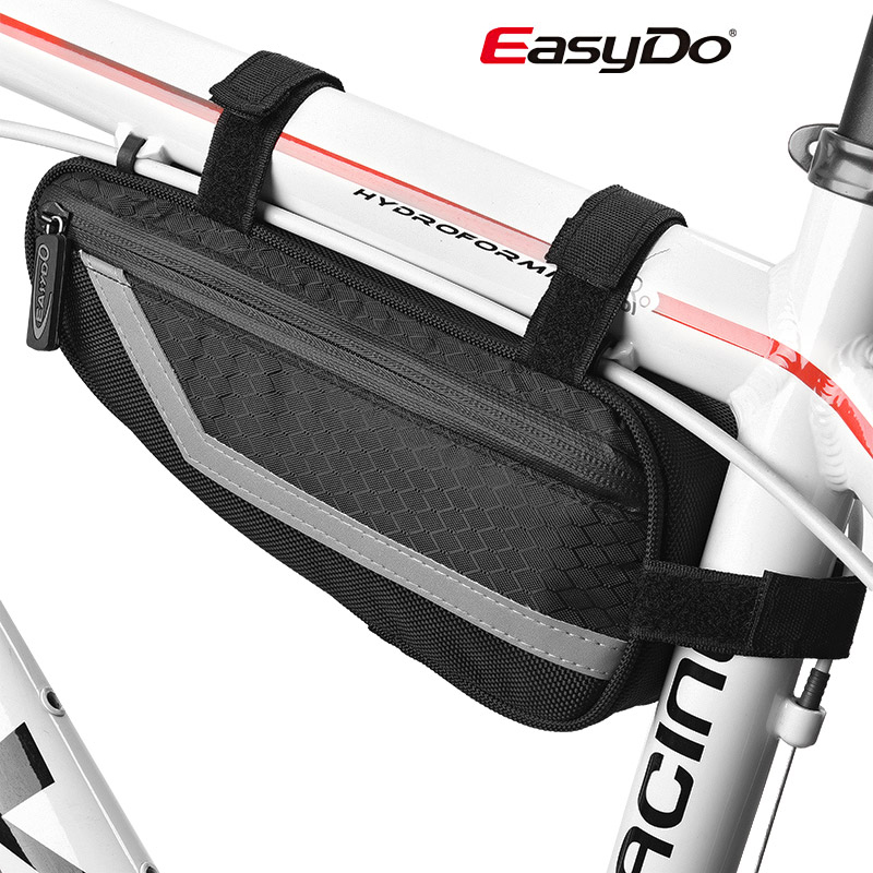 Taiwan easydo bike with reflective riding car pack bag triangle bag pipe bag mountain bike frame bicycle tool bag
