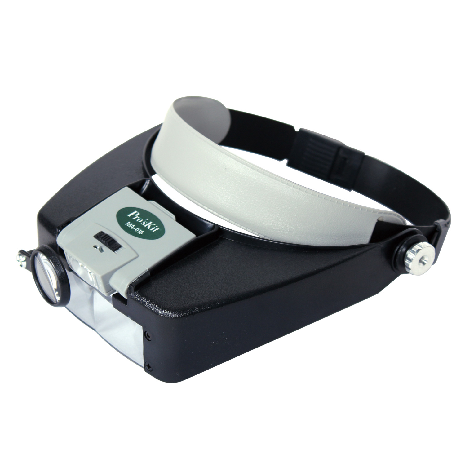 Taiwan po workers pro 'skit ma-016 headset magnifier led light magnifier magnifying lamp adjustable