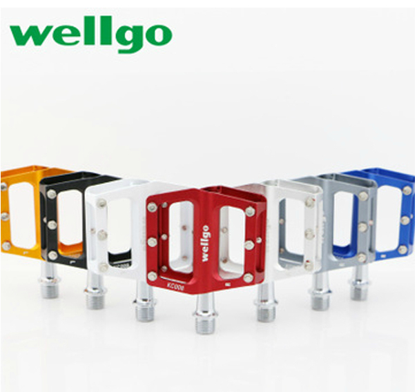 Taiwan wellgo ludwig pedal bike folding bike light slip foot pedal foot pedal bearing kc008