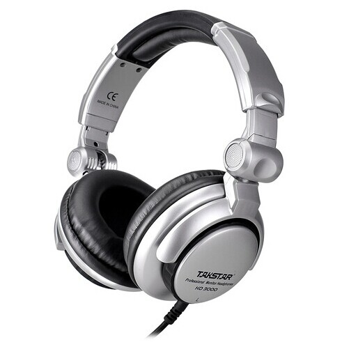 Takstar/victory hd-3000 headset professional dj headphones k song recording monitor closed