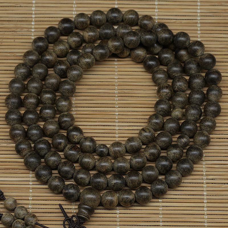 Tan sound authentic nearly 15é¢bracelets fidelity submerged level kalimantan incense rosary beads 108 male and female models 8mm 33 grams