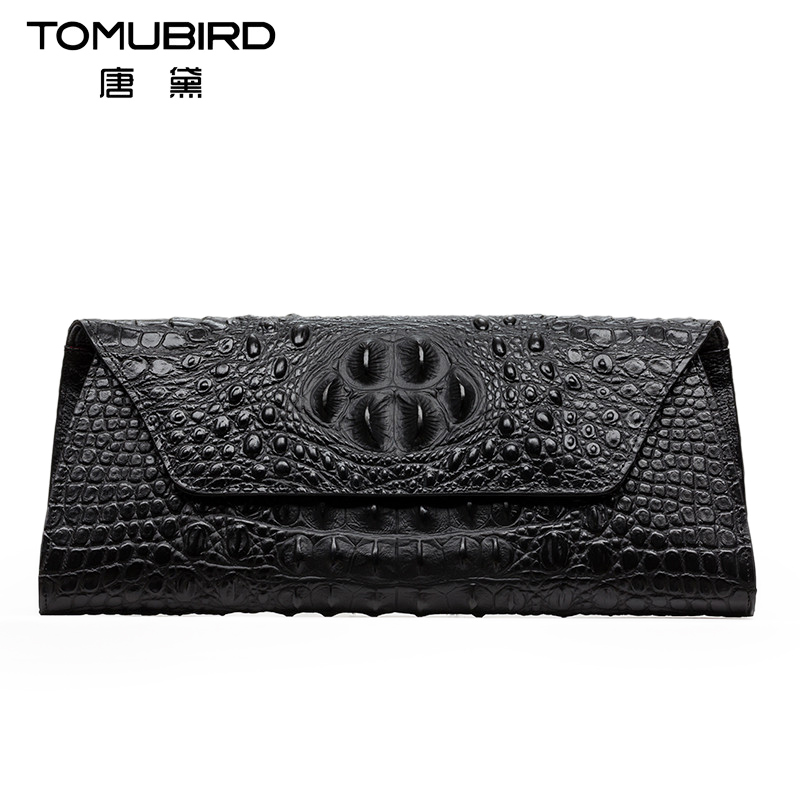 Tang dai 2016 new wave of fashion in europe and america crocodile pattern leather clutch handbags women leather hand bag handbag packet envelope