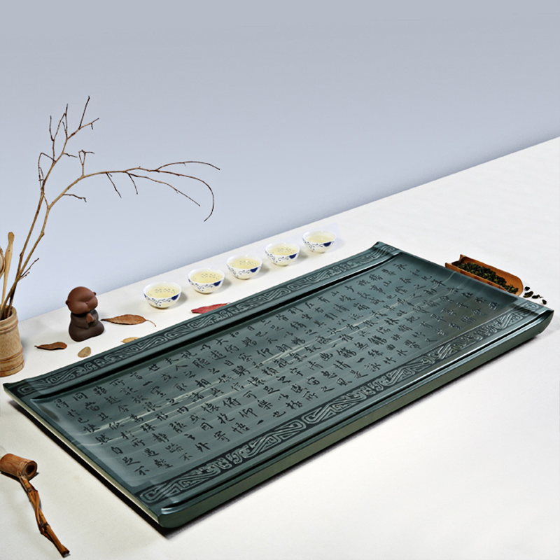 Tao cubic ukrainian natural stone stone tea tray tea tray kung fu tea sets made of stone large stone stone tea sea specials