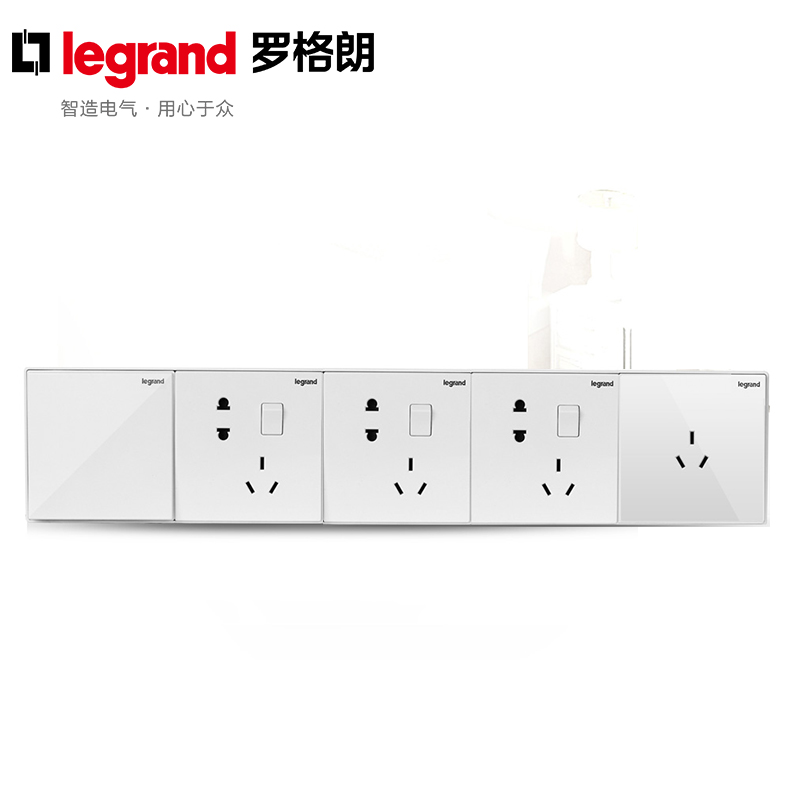 Tcl legrand switch panel 86 type wall switch socket panel official code seriesè±å¯¸five siamese border