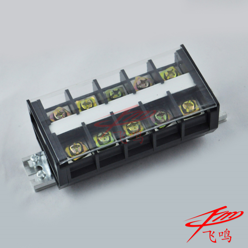 TD-1005 terminal blocks (az1) 100a/5 group rail modular terminal block wiring board connectors
