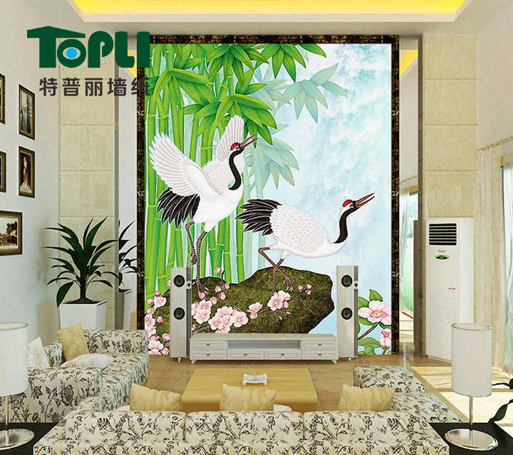 Te puli wallpaper custom wallpaper mural painting decorative painting the living room children's room sofa backdrop tv wall