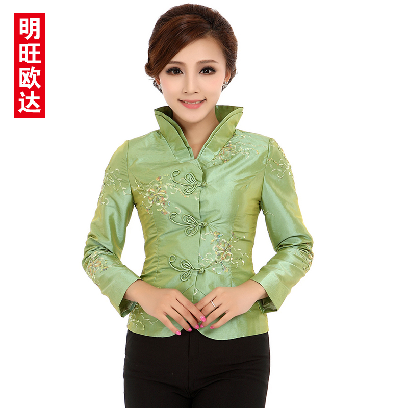 Teahouse overalls fall and winter clothes hotel restaurant waitress uniforms sleeved overalls costume tea specialist clothing thickening