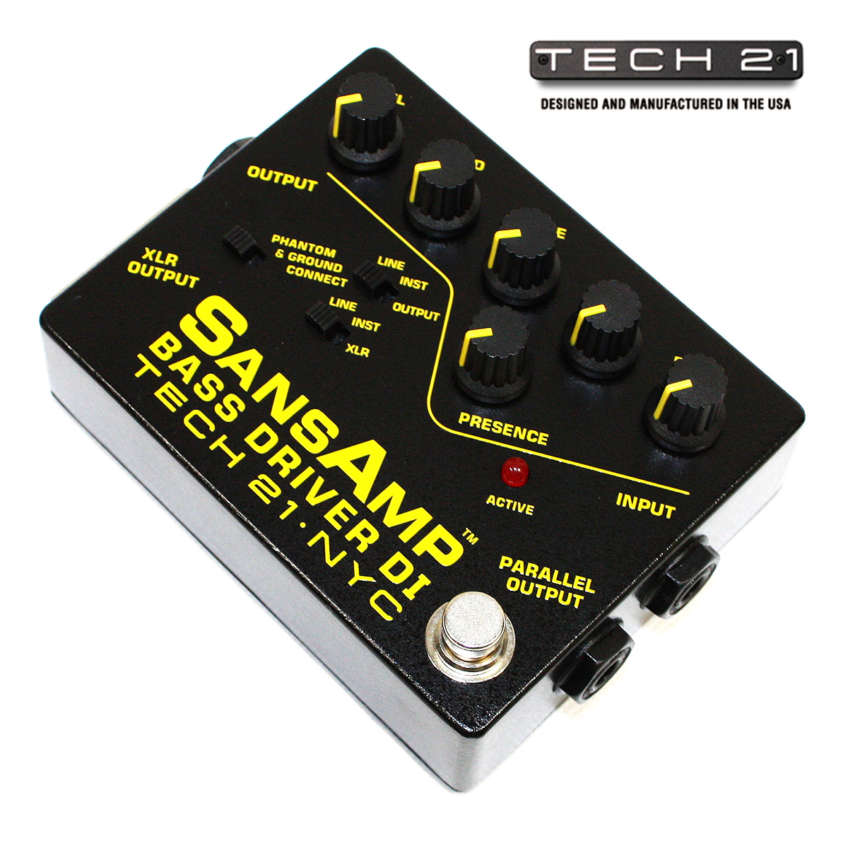 Tech21 bsdr sansamp tech 21 bass bass stompbox di box di preamp