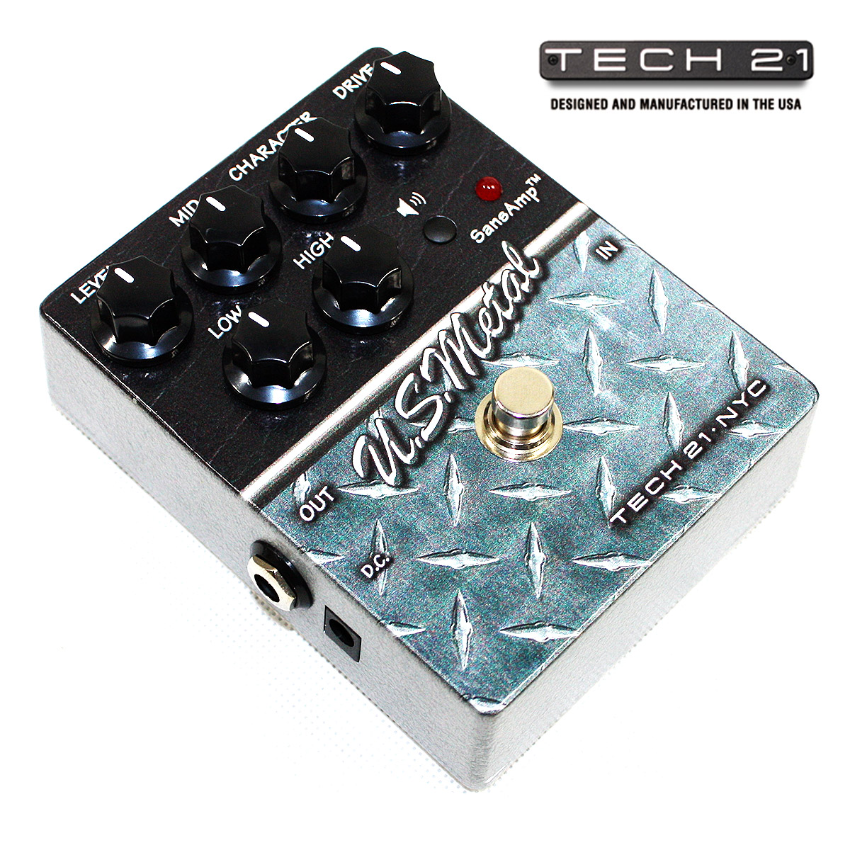 Tech21 tech 21 us steel american distortion stompbox genuine mail