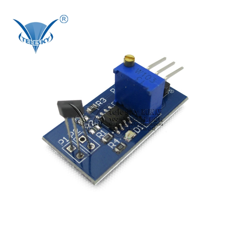 [Telesky] motor speed sensor hall switch sensor module smart car