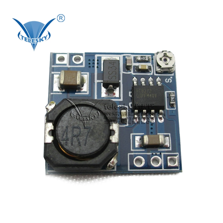 [Telesky] small model aircraft buck dc-dc adjustable power supply module buck high efficiency