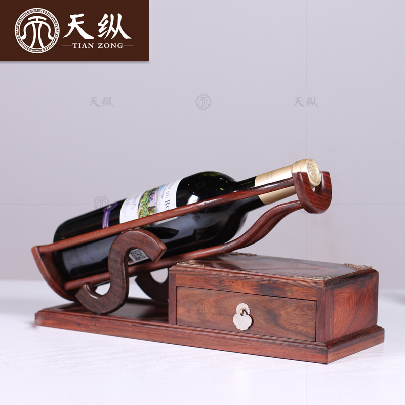 Terry mahogany laos red wood wine rack wine rack practical household ornaments red wood crafts wood ornaments
