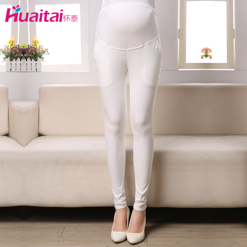 Thai 2015 new maternity care of pregnant women pregnant belly pants korean version of casual simplicity urban fashion prop belly pants spring models