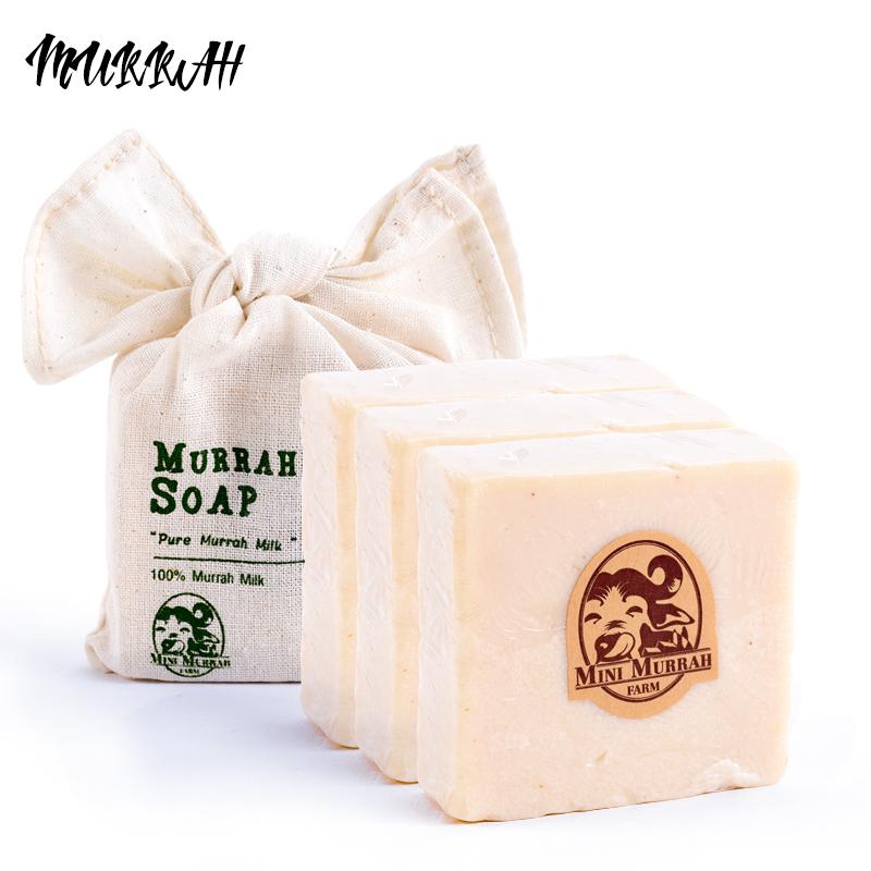 Thailand murrah moravská hyposensitivity buffalo milk soap soap cleansing bath soap whitening moisturizing repair 3 yuan