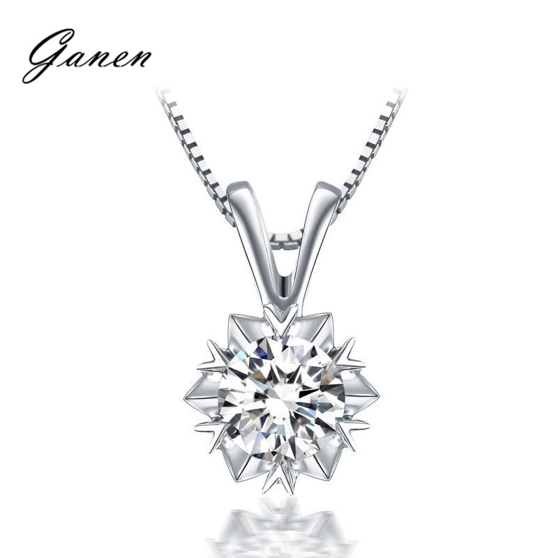 Thanksgiving counterparts of the south african diamond pendant platinum pendant k gold pendant genuine counter to send silver necklace