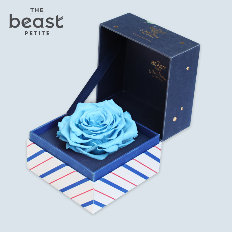 The beast/fauvism exupéry blue rose flower preservation giant preserved roses flower boxes