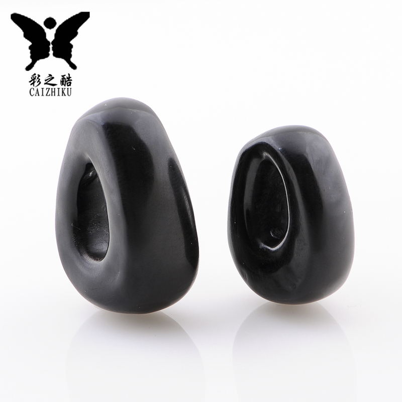 The color of the cool-natural horn oval pendant diy accessories tibetan xingyue bodhi diamond pendant accessories