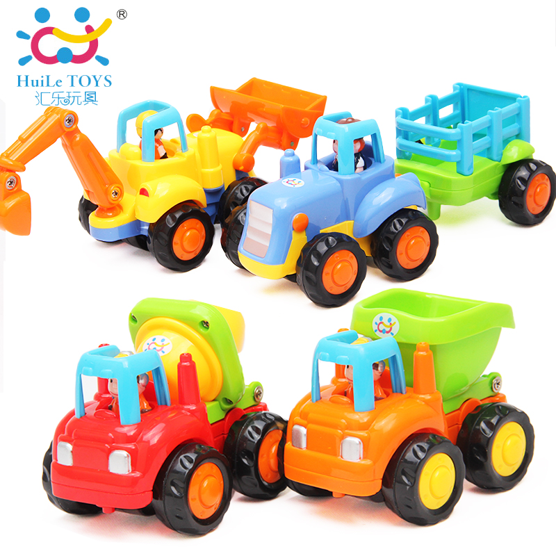 The department of music children's toy car vehicle inertia team of the department of music toy baby educational toys construction vehicles car