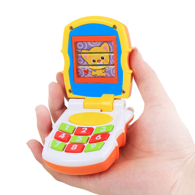 The department of music music phone 3-6-12 months baby toys simulation telephone baby early childhood educational children's 0-1-year-old