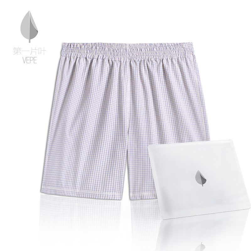 The first piece of leaf vepe boxer shorts men's home pants <trademark tear can be worn on both sides>