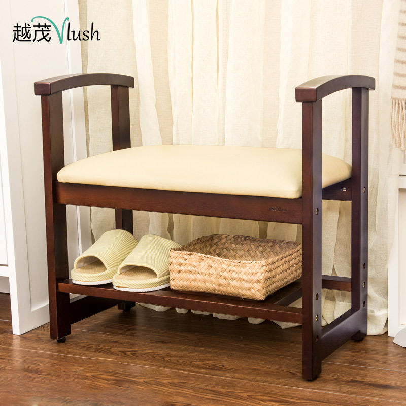 The more luxuriant wood stool changing his shoes storage stool stool sofa stool storage stool stool modern minimalist entrance foyer shoe shoe