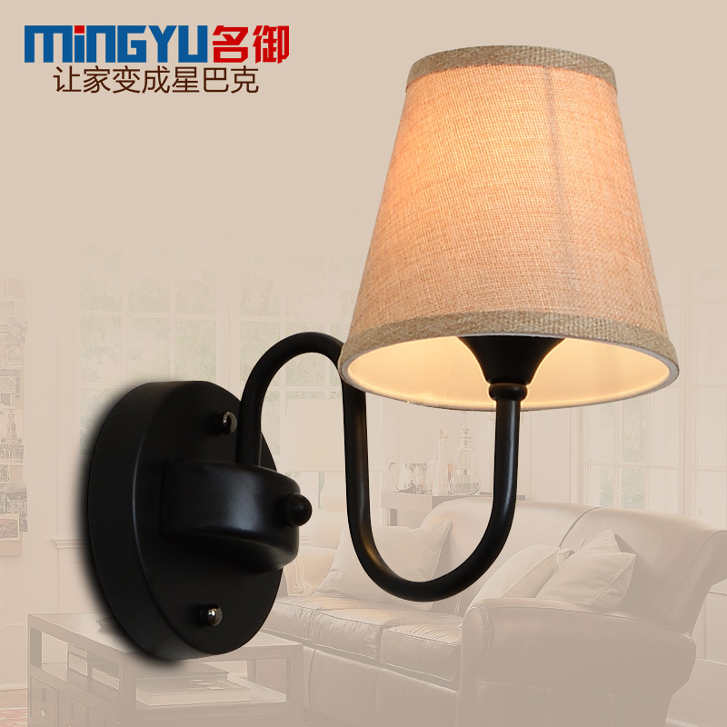 The name of the royal creative minimalist bedroom bedside lamp wrought iron lamps nordic american country wall lamp wall lamp wall lamp aisle wall lights