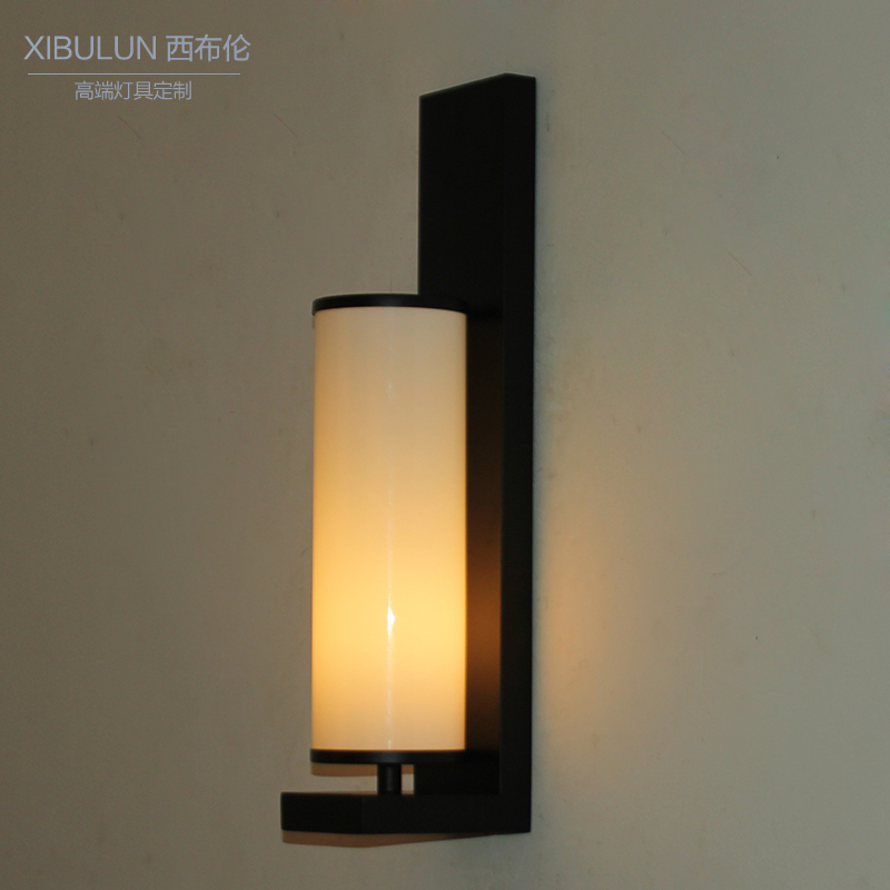 The new chinese modern minimalist led aisle lights lamps wall lamp bedroom bedside wall lamp wall lamp american country minimalist wall lamp wall lamp