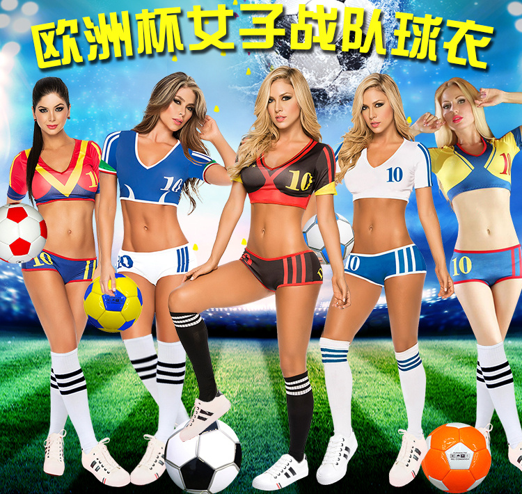 The new european cup football baby cheerleader costume suit ds costumes cheerleading cheerleading clothes bar