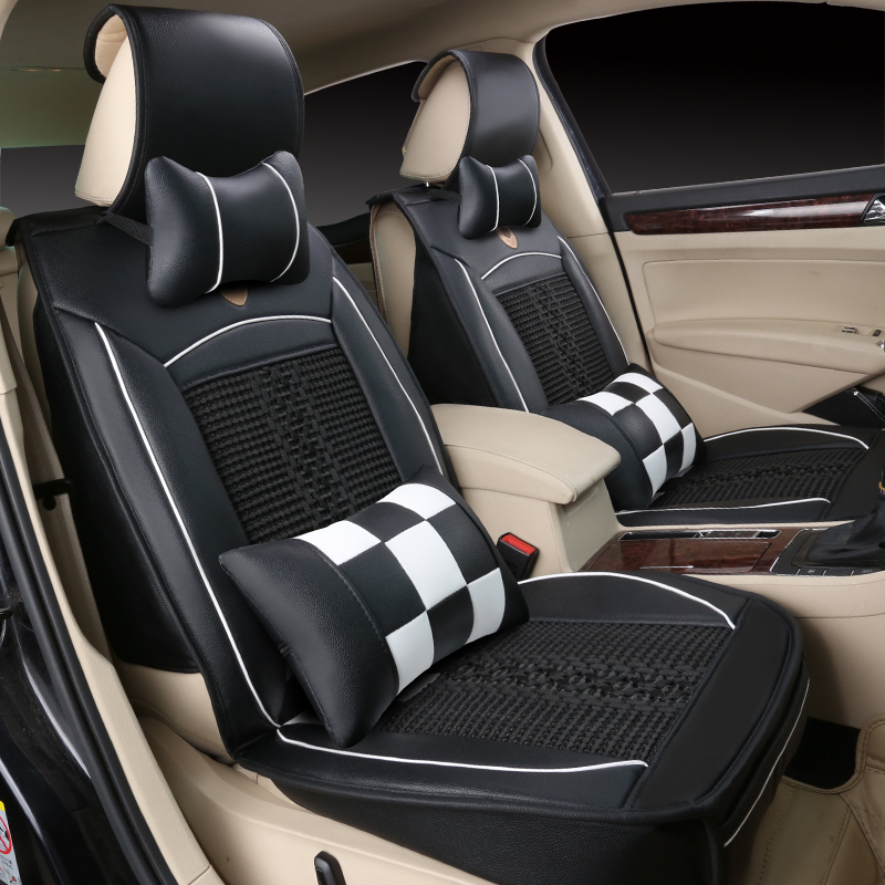 The new four seasons general car seat cushion summer ice silk cushion summer car seat cushion covers the whole car car car seat cushion