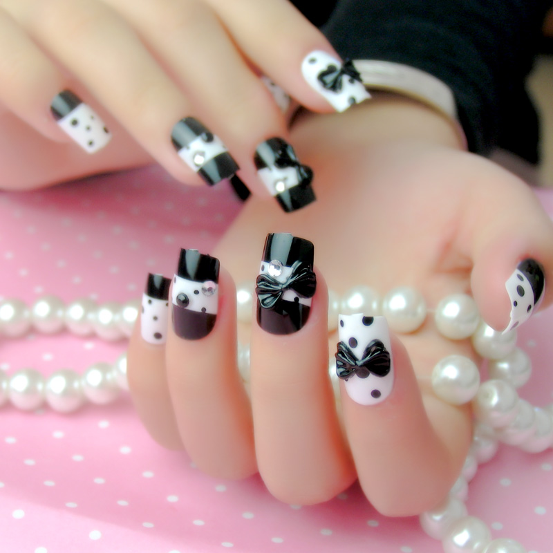 China Fake Nails Black, China Fake Nails Black Shopping Guide at ...