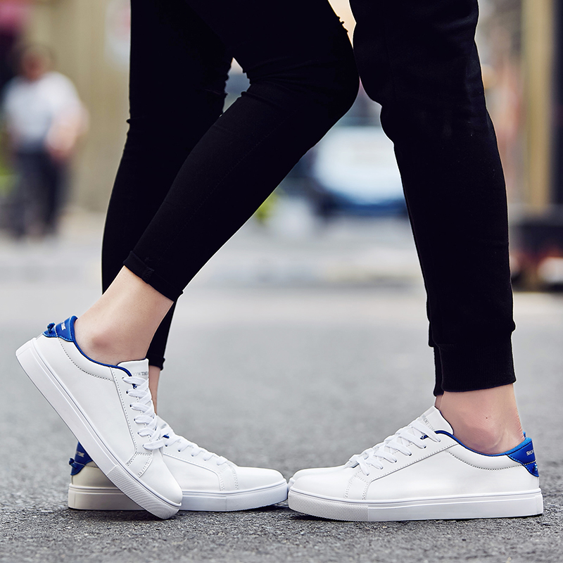 The new men's summer breathable men's casual shoes sport shoes white shoes female korean version of the influx of shoes men shoes couple shoes