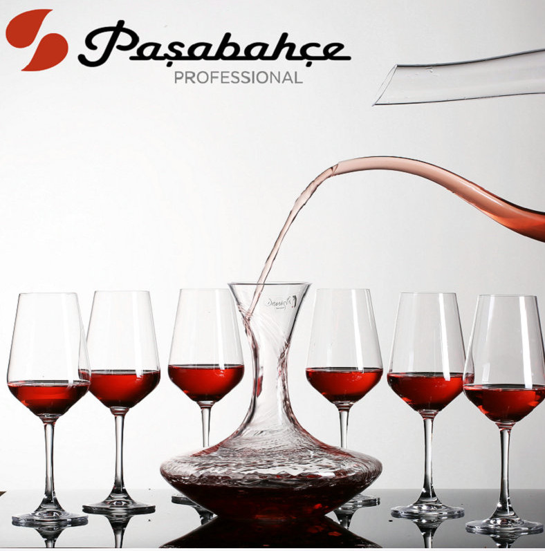 The new turkish pasha imported unleaded crystal glass of bordeaux red wine set wine gift