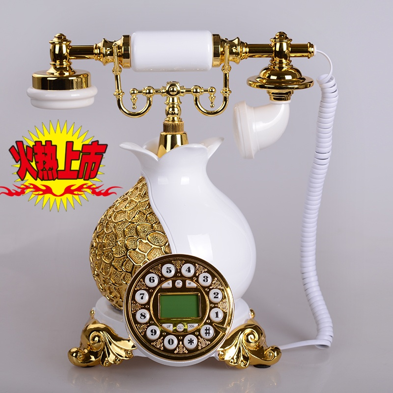 The new upscale vintage antique telephones european retro fashion creative contadino 100个of home office telephone