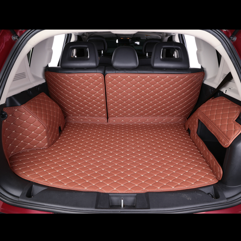 The new volkswagen passat bora polo santana long lines sharan touran golf 7 full surround trunk mat