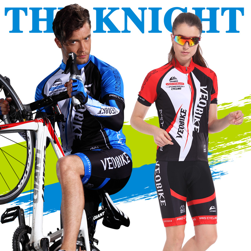 The only faction summer jersey short sleeve suit male and female mountain bike cycling jersey shorts cycling clothing and equipment