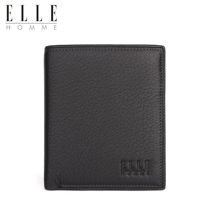 [Thick] [deer] elle exquisite leather wallet men short paragraph wallet men wallet wallet vertical section of thicker