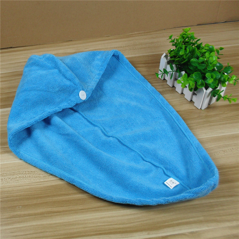 Thick microfiber absorbent towel dry hair dry hair hat kuaisuganfa quick dry hair hat long hair with 7.5 Yuan/article