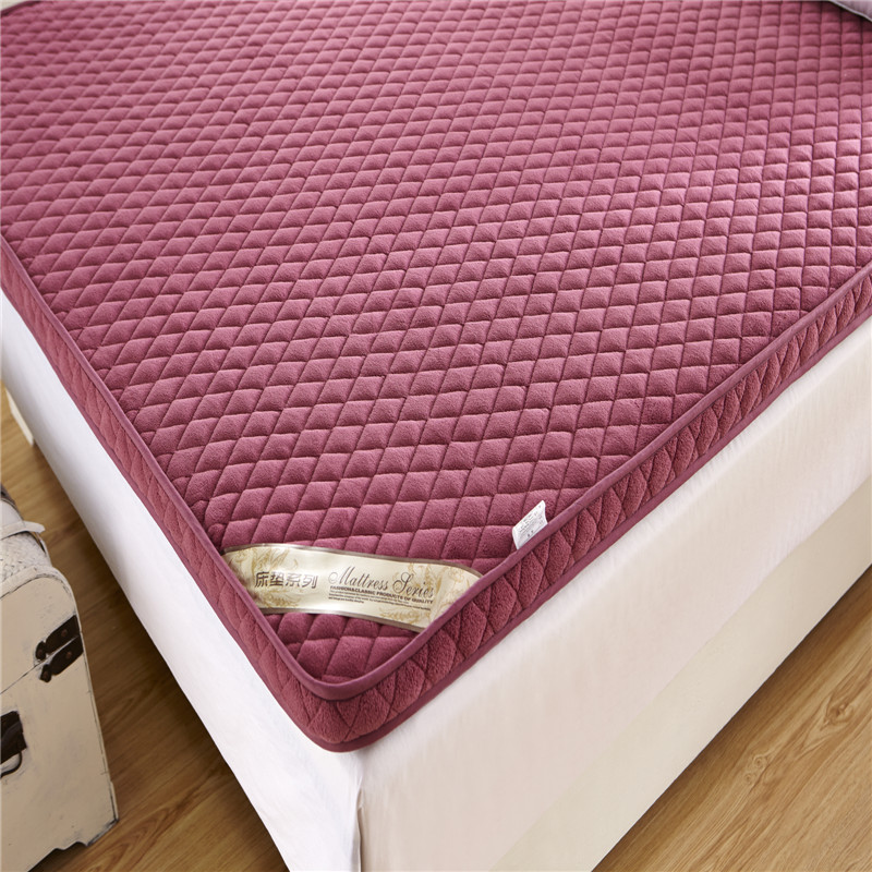 Thick sponge mattress single double mattress pad is student dormitory m bed folding tatami mattress