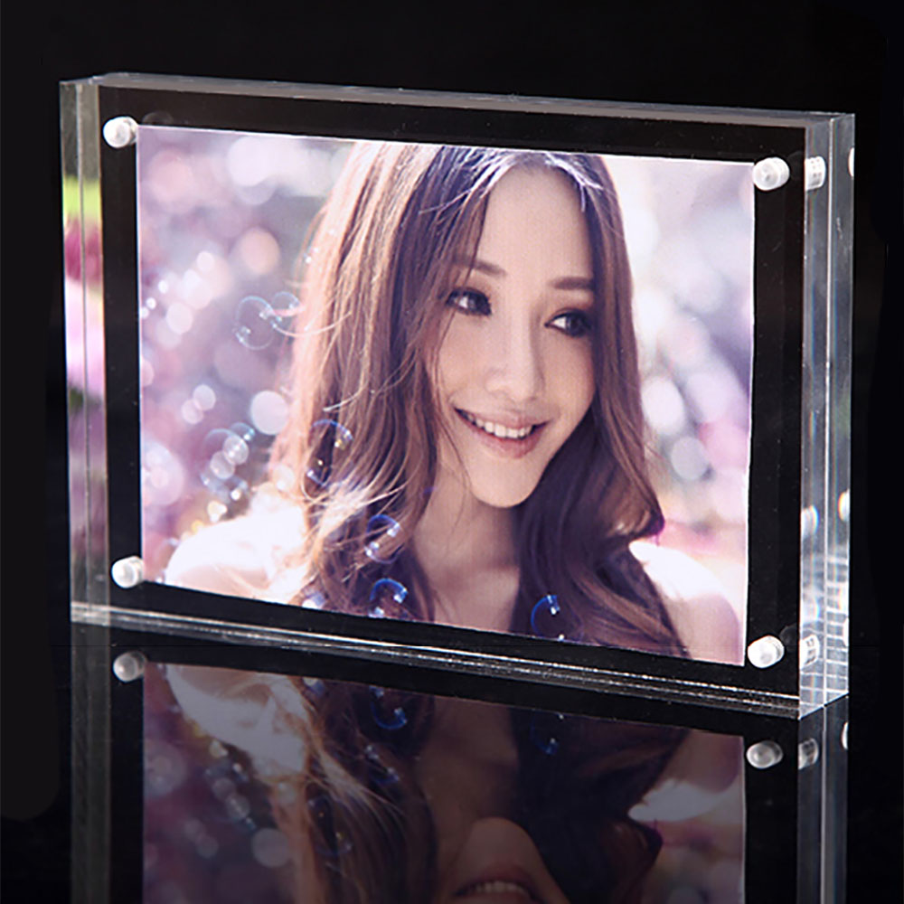 Thick transparent acrylic photo frame acrylic magnet photo frame certificate frame 5 inch 6 inch 7 inch 8 inch 10 inch 12 Inch
