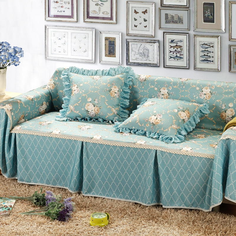 Get Quotations Thicker Fabric Slipcover Sofa Cover The Whole Slip Jacquard Towel Dust
