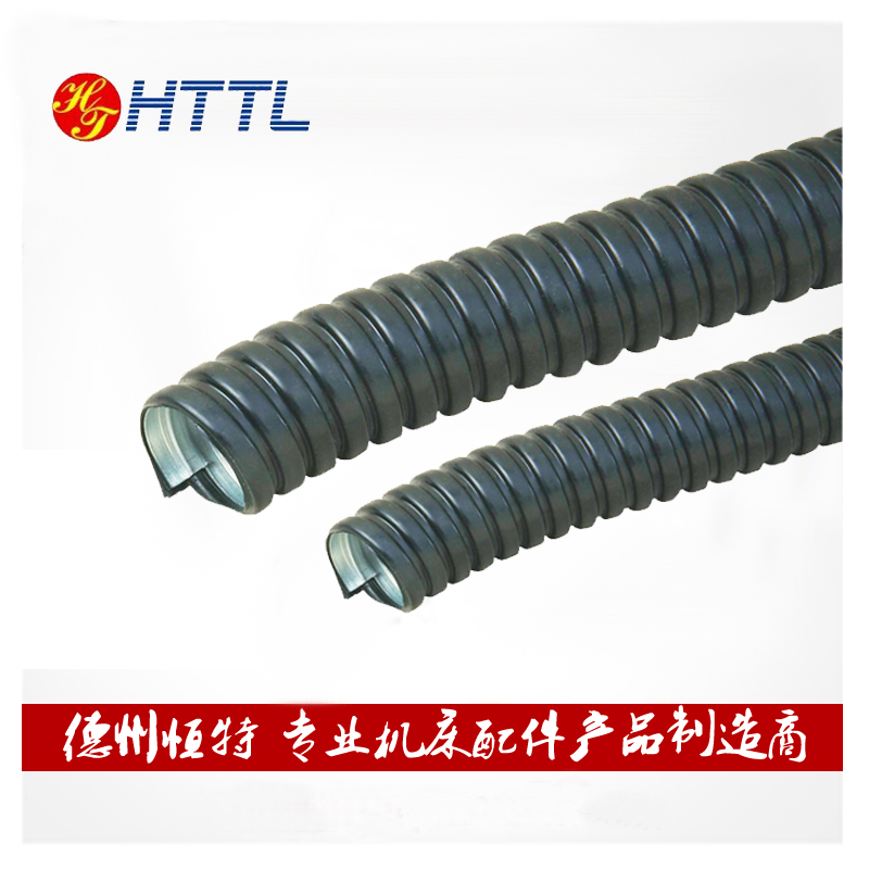 Threading hose plastic coated metal hose pipe threading plastic coated metal hose snakeskin tube wire casing gb thick