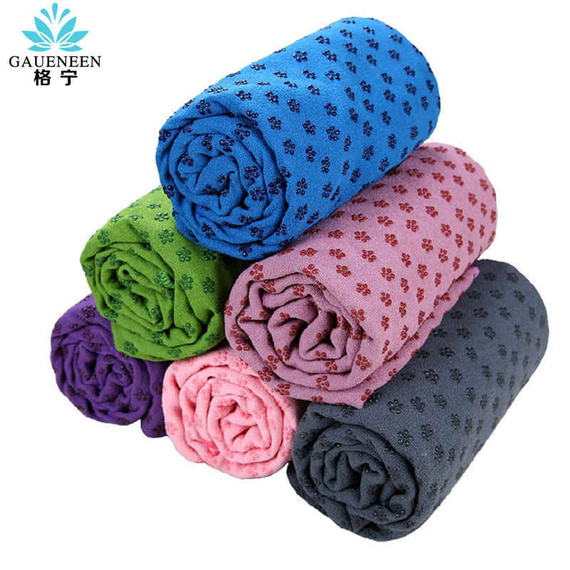 Three east zi yoga mat yoga shop towels plum point sweat slip yoga towel fitness blanket send mesh bag net bag specials